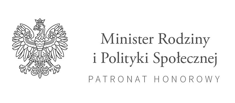 Logotyp Ministerstwa Rodziny i Polityki Społecznej